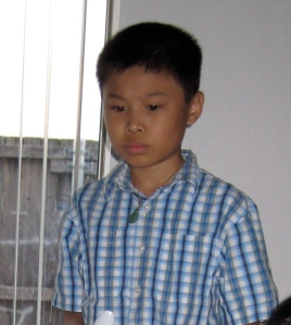 Minh, 13, moved to Dallas before settling in Salt Lake City.