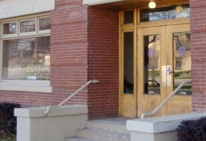 The entrance to the Community Legal Center, the location of the Legal Aid Society of Salt Lake.
