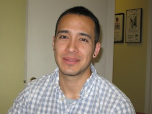 Alex Moya sees a unique side of the gay marriage debate due to his work with gay Hispanic immigrants.