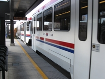 TRAX rail service connects individuals in the Salt Lake Valley.