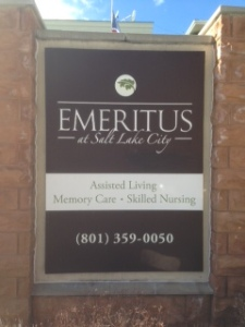 Emeritus Salt Lake is located at 76 South 500 East.