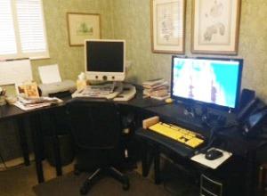 Winnifred Jardine's office in her East Millcreek home.