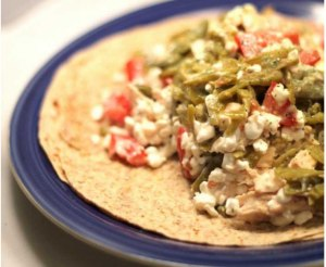 Chicken ranch slaw burritos are one of the many available recipes Hunt provides in her cookbook