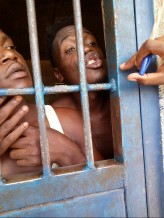 LGBT refugees imprisoned in Nairobi after peacefully protesting their unfair treatment.