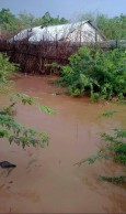 Flooding at Kakuma Camp.