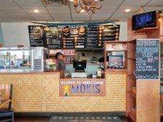 Inside Moki's Hawaiian Grill