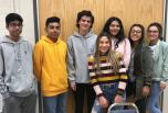 Members of LIA from Jordan High School volunteering at Jordan Valley School.